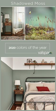 """This raw wood shade is a light backdrop for a simple yet full life. One of 12 Valspar 2020 Colors of the Year: Secret Moss at Lowe& Bedroom Paint Colors, Paint Colors For Home, House Colors, Lowes Paint Colors, Green Paint Colors, Valspar Colors, Home Interior, Interior Design, Wall Colors"