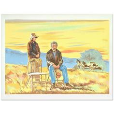 "William Nelson - ""The Homesteaders"" Limited Edition Lithograph  