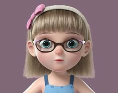 school Cartoon Girl Rigged rig rigged setup cartoon, formats FBX, MA, MEL, ready for animation and other projects Cartoon Girl Images, Cute Cartoon Pictures, Cute Cartoon Girl, Cartoon Girl Drawing, Cartoon Pics, Cute Disney Wallpaper, Cute Cartoon Wallpapers, Baby Cartoon Characters, 3d Models