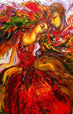 Calin Amereux painting