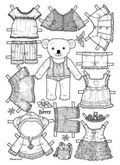 Printable cutout paper doll sheet | Hispanic Heritage art ...