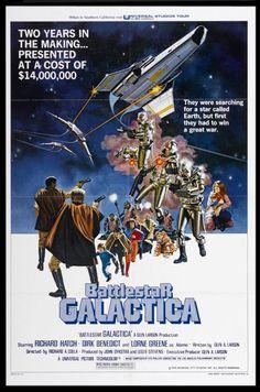 Battlestar Galactica original movie poster