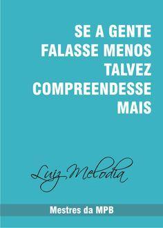 Congênito - Luiz Melodia (Composição: Luíz Melodia)
