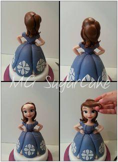 MG Sugarcake Princess Sofia face 8