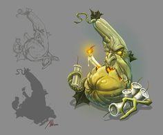 pumpkin, MoloTok_23 Ivan on ArtStation at https://www.artstation.com/artwork/pumpkin-088c0244-a7a3-4d03-903d-36356d8970e5