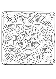 Mandala  12A worksheet