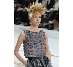 Le défilé Chanel haute couture automne-hiver 2014-2015 côté beauté