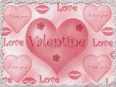 """""""Love"""" and """"Valentine"""", y'all."""