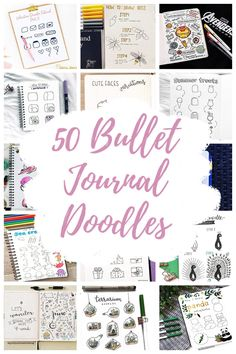 Doodles are a fantastic way to take your bullet journal to the next level! Here are 50 bullet journal doodle tutorials and ideas to help you get started! Bullet Journal Writing, Bullet Journal Ideas Pages, Bullet Journal Inspiration, Bullet Journals, Heart Doodle, You Doodle, Doodle Art, Planner Doodles, Bujo Doodles