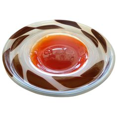 Italian Murano Rare Bowl by Angelo Fugo | From a unique collection of antique and modern bowls at http://www.1stdibs.com/furniture/dining-entertaining/bowls/