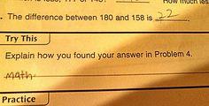 31 Hilarious Test Answers from Smart Ass Kids - Team Jimmy Joe
