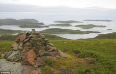 Tanera Mor, the largest of the Summer Isles in Scotland