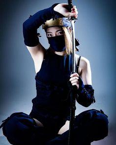 Warrior 2, Shadow Warrior, Airbrush Designs, Japanese Art, Beauty, Women, Sports, Concept, Inspiration