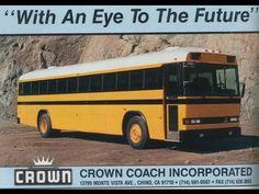 1989 crown school bus - Google Search