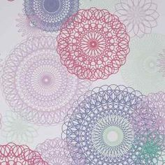 Spirograph-Circles-Pink-Purple-Lilac-Retro-Wallpaper
