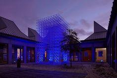 SOM designs alternative Christmas sculpture at Utzon Center in Denmark