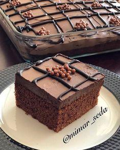 10 Minuets : Find out more Via = @ mimar_seda This language . Chocolate Turtles, Chocolate Peanuts, Chocolate Recipes, Chocolate Cake, Mousse, Pasta Cake, Fudge, Chocolate Milkshake, Cream Cake