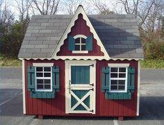Outdoor Children's Playhouse Ideas thumbnail