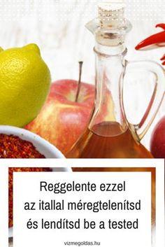 Reggelente ezzel az itallal méregtelenítsd és lendítsd be a tested Detox, Health, Food, Health Care, Essen, Meals, Yemek, Eten, Salud