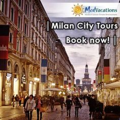 Milan is one of the top fashion cities in the world but there is much more to see in this trendy, urban metropolis – it is also home to an incredible patrimony of art and culture which includes one of Leonardo Da Vinci's greatest masterpieces: the Last Supper. Find out more about this tour here: http://medvacations.co.za/what-we-offer/city-tours?&SingleProduct=32