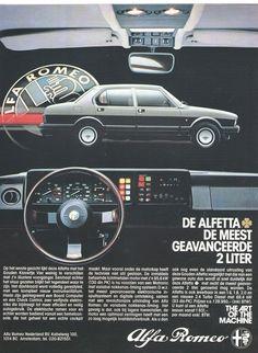 Alfa Romeo Alfetta QV 2.0 - adv https://plus.google.com/+JohnPruittMotorCompanyMurrayville/posts