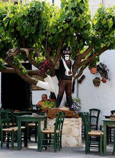 Kafeneion in #Angoia, #Crete