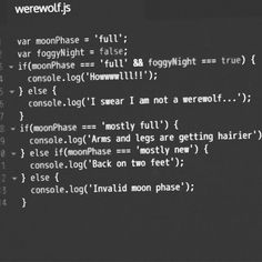 Figures I ended up choosing a werewolf for my persona poem in English a couple weeks ago.... I was wondering where the inspiration came from and then I found this picture #coding #javascript #werewolf #poem #moon