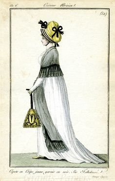 1798. Triangular Reticule? or is it a pyramid and inspired by Egypt?