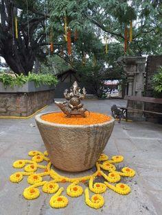 ShaadiSaga - India's most trusted Wedding Planning platform Housewarming Decorations, Diy Diwali Decorations, Simple Wedding Decorations, Festival Decorations, Flower Decorations, Desi Wedding Decor, Indian Wedding Theme, Wedding Mandap, Wedding Receptions