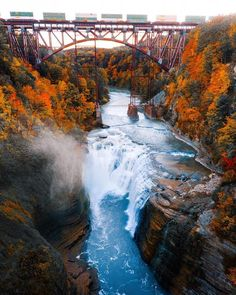 Outdoor Travel photography Say Yes To Adventure Letchworth State Park - Michael Block Photography Letchworth State Park, Get Outdoors, The Great Outdoors, New York State Parks, Nature Photography, Travel Photography, Waterfall Photo, Wanderlust, Destinations