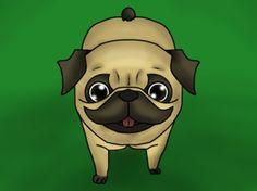 Cute pug x by Desire-Bloodrayne.deviantart.com on @deviantART
