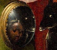 """It's not unusual to read the texts with the titles """"Garden of Earthly Delights: A Mirror for Modern Times?"""" or """"Hieronymus Bosch: The Mirror of Man""""; they easily fall … Renaissance Artists, Renaissance Paintings, Hieronymus Bosch Paintings, Pieter Bruegel, Tarot, Garden Of Earthly Delights, Bizarre Art, Mirror Art, Vanitas"""
