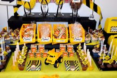 Construction Buffet | CatchMyParty.com