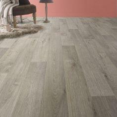 Sol PVC beige timber, ARTENS Textile l.4 m   Leroy Merlin