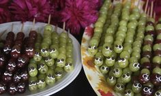 Google Image Result for http://www.halfhourmeals.com/food-for-thought/wp-content/uploads/2012/07/Fun-Snacks-for-Kids-Grape-Caterpillar-Kabobs.jpeg