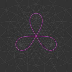 shonk: The Trefoil (cf. Optical Illusion Gif, Optical Illusions, Eye Tricks, Trippy Gif, Sacred Geometry Art, Occult Symbols, Cinemagraph, Flower Of Life, Gifs