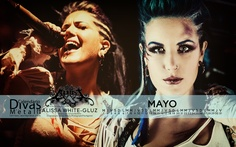 MAYO/MAY: Alissa White-Gluz (THE AGONIST)