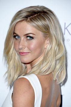 Medium Length Blonde Hairstyles Hair Amp Makeup On Pinterest Kim Kardashian Long Bobs And - Women Hairstyle Trendy