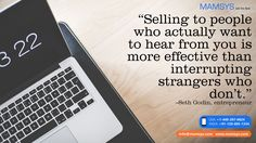 Selling to people who actually want to hear from you is more effective than interrupting strangers who don't. Digital Marketing Strategy, Digital Marketing Services, Inbound Marketing, Internet Marketing Company, Online Marketing, Advertising Sales, Reputation Management, Search Engine Marketing, Marketing Consultant
