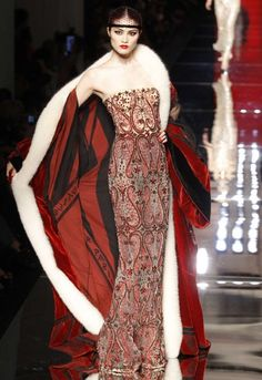 Jean Paul Gaultier Haute Couture a/w 2012-3. Art deco inspired
