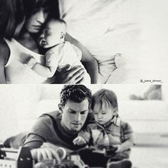 Mummy and Daddy Grey, during the worst and best days of their lives As always, credit goes to @_jamie_dornan_