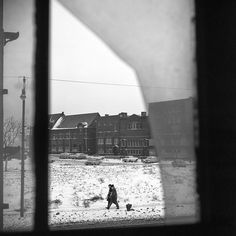 Vivian Maier - Hull House, Chicago, IL, January 31, 1963 / Silver Gelatin Print - 12 x 12 (on 16x20 paper)