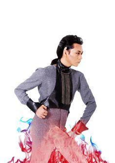Fashion ~ Vertigo by Win Laim Photographer ~ Mars Mario Model ~ Valentine Vu  #fashion #opulence2015 #rafflescambodia #valentinevu #deva
