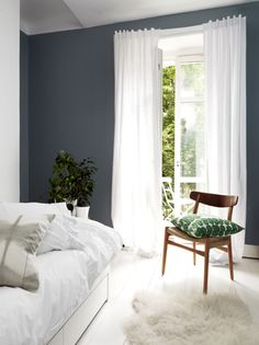 Mid-Century Bedroom Decor Tips & Tricks to Make This Bedroom Decor Last You Seasons and Seasons. Decorating a bedroom decor might be one of the biggest hardship Bedroom Inspo, Bedroom Colors, Home Bedroom, Modern Bedroom, Bedroom Decor, Summer Bedroom, Light Bedroom, Mid Century Bedroom, Eclectic Furniture