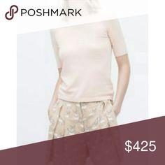 Coming Soon Zara Pullover Sweater Ivory in color BNWOT Crew neck  68% Viscose 32% Nylon Zara Sweaters Crew & Scoop Necks