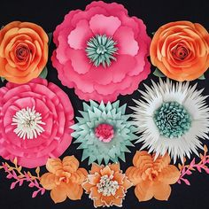 178 best paper flower backdrops images on pinterest in 2018 designs paper flowers paper flower backdrops weddingevent decor paper flower wedding centerpieces backdrop rentals and bouquets for clients worldwide mightylinksfo