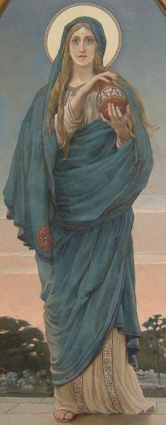 St. Mary Magdalene, Viktor Vasnetsov