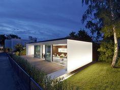 Active House B10 Prefab Prototype in Stuttgart