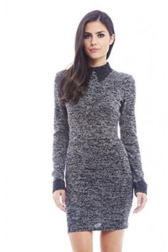 AX Paris Women's Crochet Collar And Cuff Knitted Black Dress(BLACK, Size:6) AxParis http://www.amazon.com/dp/B00NSY37BO/ref=cm_sw_r_pi_dp_XhEpub14QTC1M
