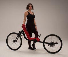 Mohsen Saleh's RWS recumbent – Bicycle Design